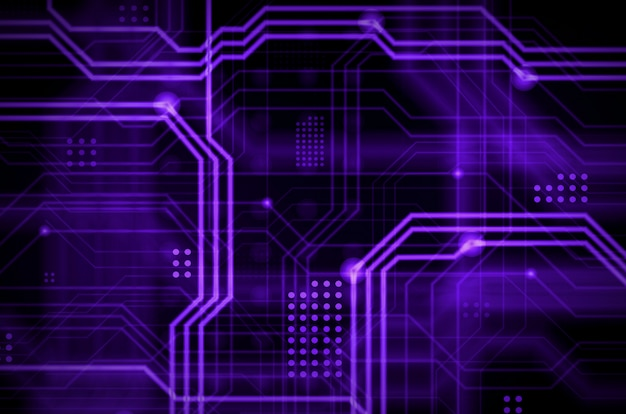 An abstract technological background Premium Photo