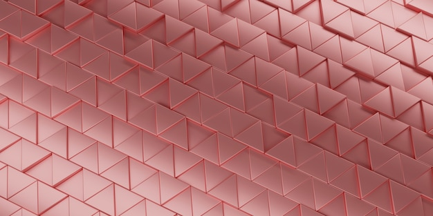Abstract triangle background 3d rendering. Premium Photo