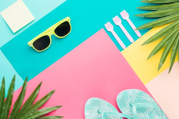 Abstract vacation concept Free Photo