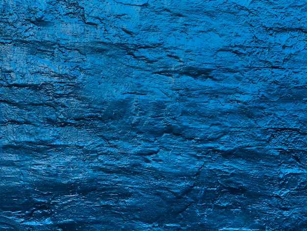 Abstract water waves painted wall texture Free Photo