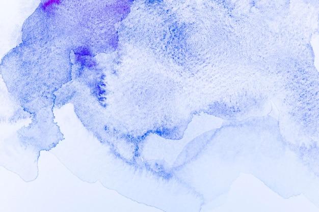 추상 수채화 밝은 파란색 배경 무료 사진