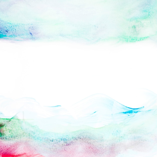 Abstract watercolor paint background Free Photo
