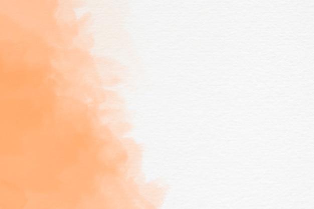 Spruzzata astratta dell'acquerello su fondo bianco con copyspace Foto Gratuite