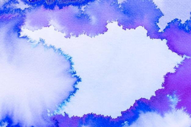 Абстрактная акварель яркие краски фон Бесплатные Фотографии