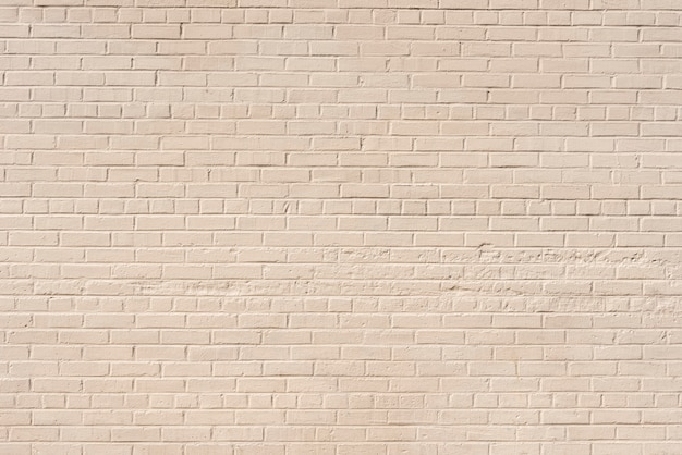Abstract white brick wall background Free Photo