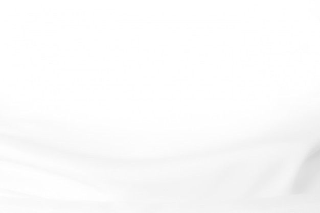 Abstract white cloth background with soft waves.  abstract background. Premium Photo