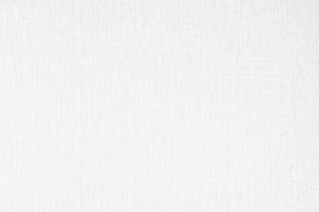 抽象的な白い色のキャンバスの壁紙の質感と表面 無料写真