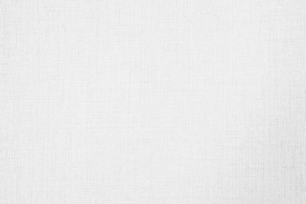 Abstract white color canvas wallpaper textures and surface Free Photo