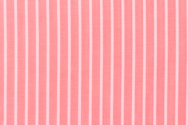 Abstract white stripes pattern on red textile background Free Photo