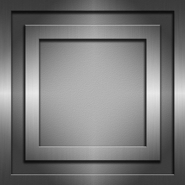 Аннотация с металлическими текстурами и рамками Бесплатные Фотографии
