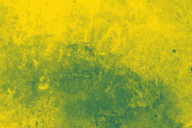 Abstract yellow and greeting wall texture Free Photo