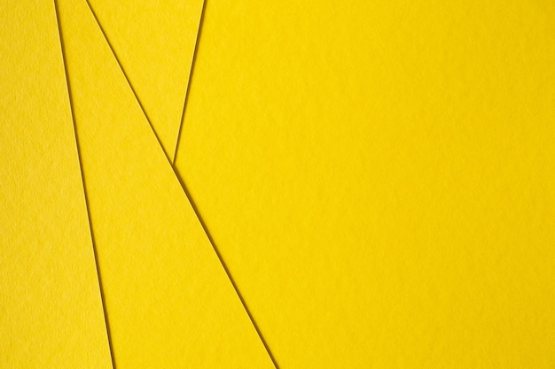 Abstract yellow paperboard background Free Photo