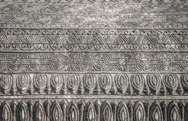Abtract 선 패턴 벽돌 프리미엄 사진