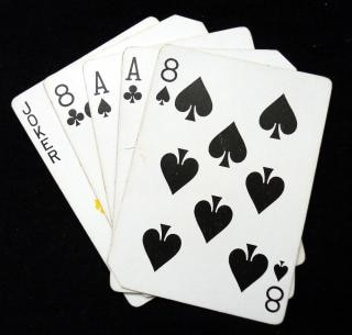aces and eights cards