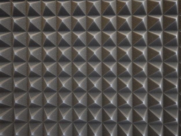 Acoustic foam in studio Free Photo