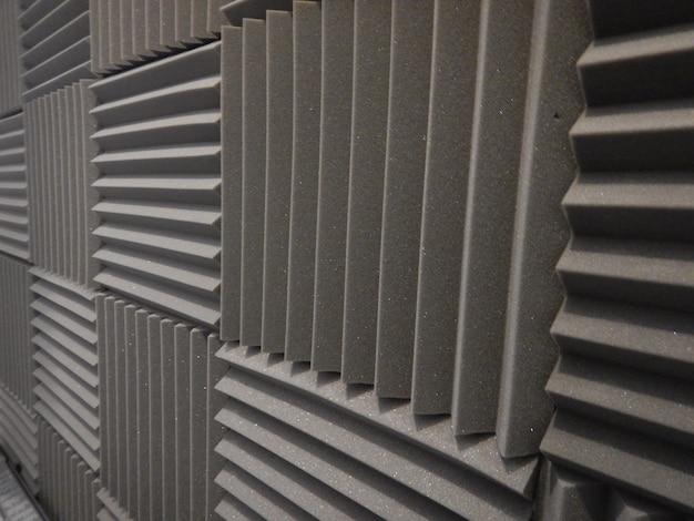 Acoustic foam in studio Free Photo