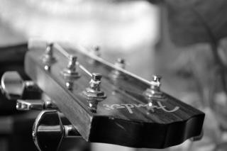 acoustic guitar black white photo free download. Black Bedroom Furniture Sets. Home Design Ideas