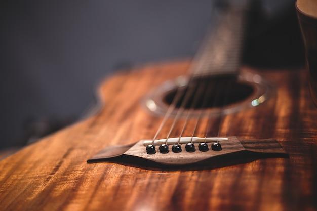 Acoustic guitar instrument Premium Photo