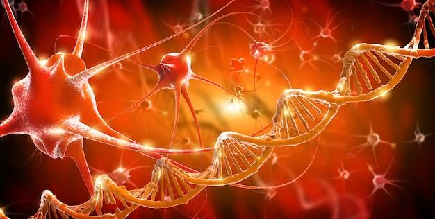 Active nerve cells Premium Photo
