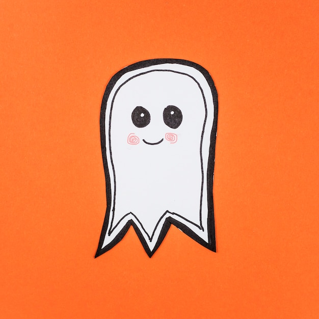 Adorable paper made ghost Free Photo