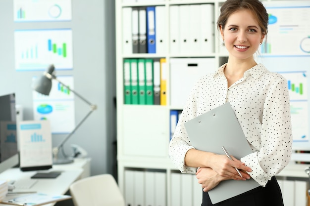 Adult caucasian fashion attractive businesswoman Premium Photo