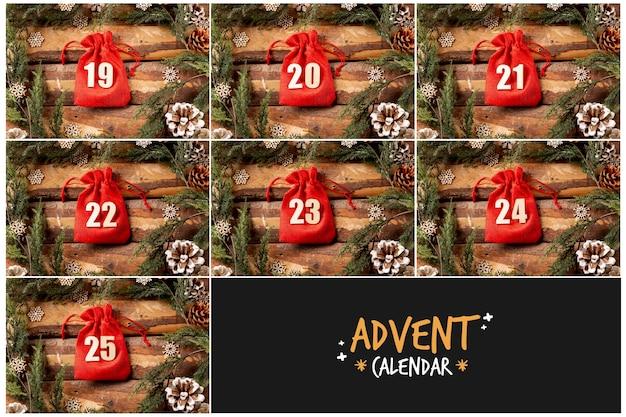 Advent calendar logo and image Free Photo