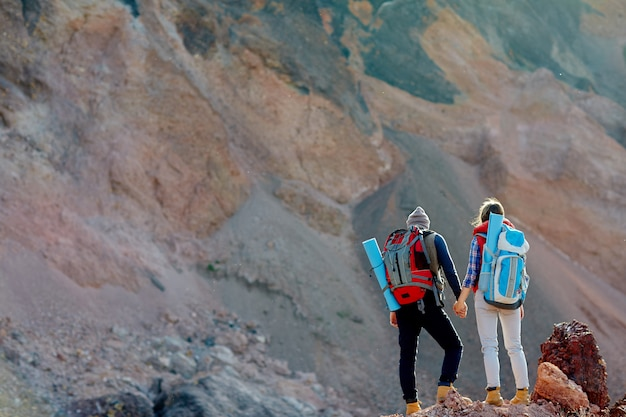 Adventurers in the wild Free Photo