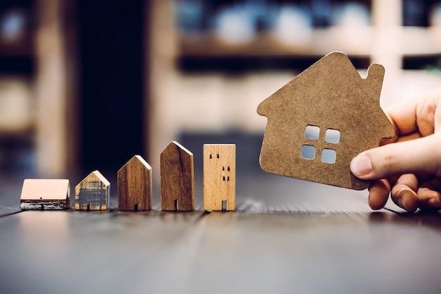 家の宣伝 Premium写真