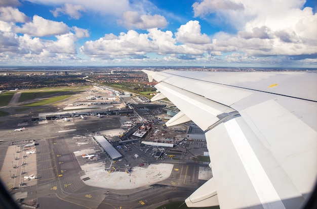 Peachy Aerial View Of Copenhagen Airport From Window Seat Of Gmtry Best Dining Table And Chair Ideas Images Gmtryco