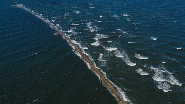 Вид с воздуха на пирс Бесплатные Фотографии