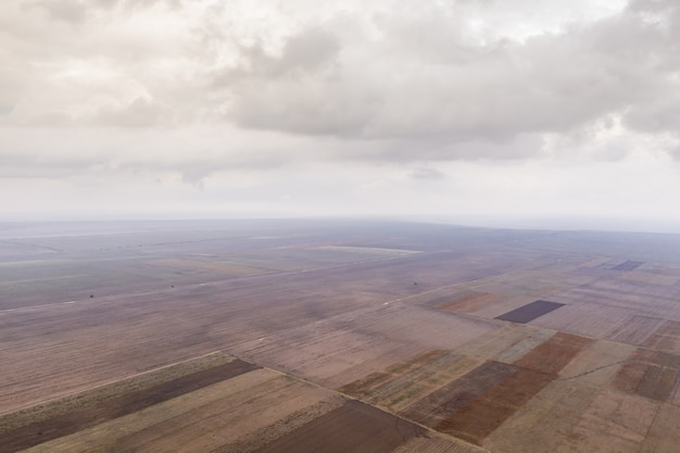 農地の航空写真 無料写真