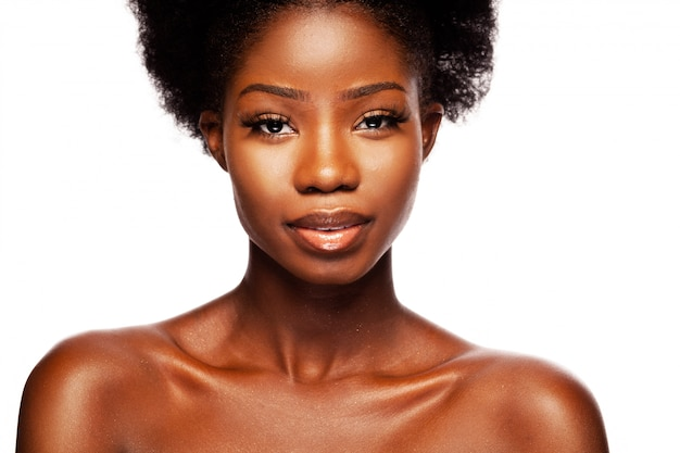 African american beauty woman Premium Photo