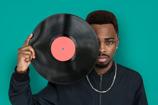 African guy studio shoot portrait people race Premium Photo