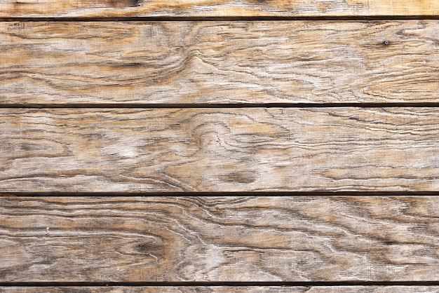 Aged brown wood planks wall Free Photo