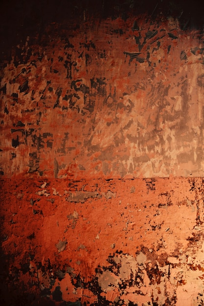 Aged grunge wall pink old paint texture Premium Photo