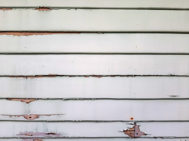 Aged peeling slat wall Premium Photo