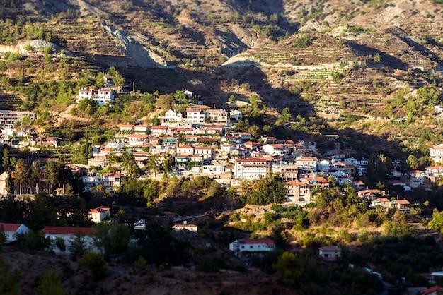 Agros, traditional mountain village. cyprus, limassol district Free Photo