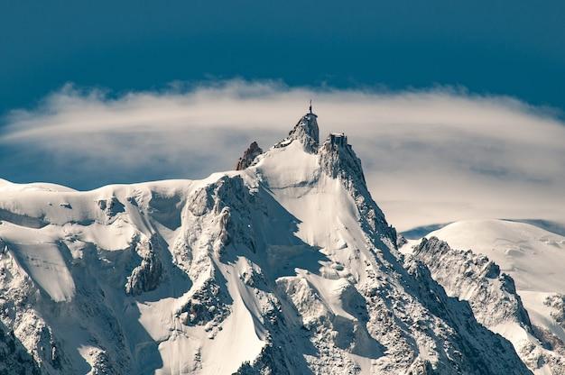 エギーユデュミディ、モンブラン山塊 無料写真