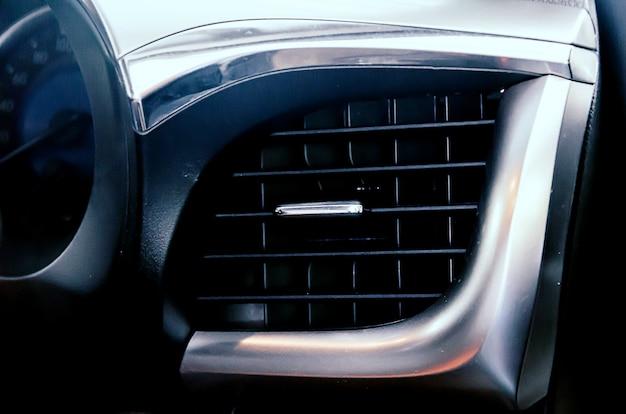 Air conditioning vent in the car Premium Photo