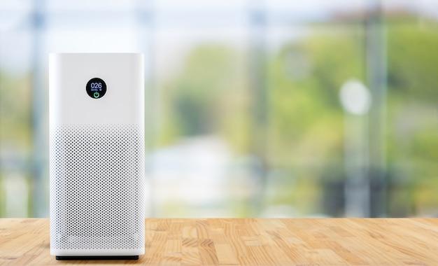 Air purifier a living room Premium Photo