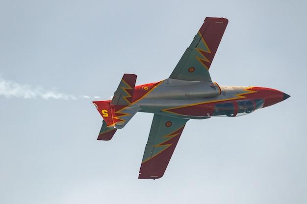 Aircraft  of the patrulla aguila Premium Photo