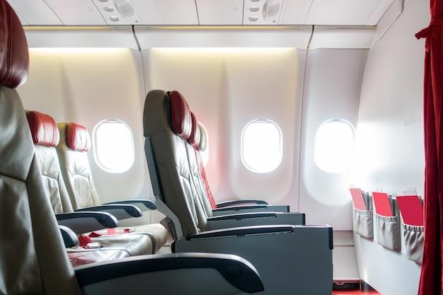 Airplane seats Premium Photo