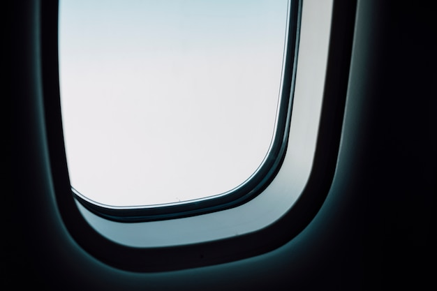 Airplane window Free Photo