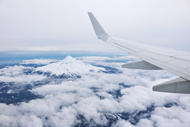 Of airplane wing Free Photo