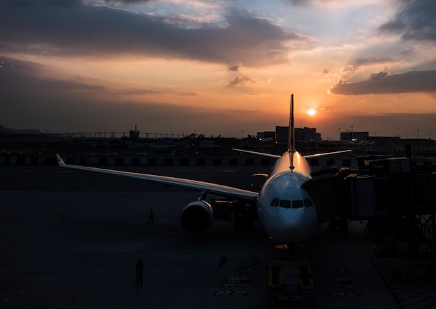 Airport Aircraft Airplane Aviation Transportation Travel Free Photo
