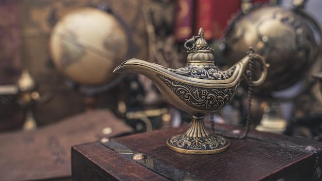 Aladdin magic lantern Premium Photo