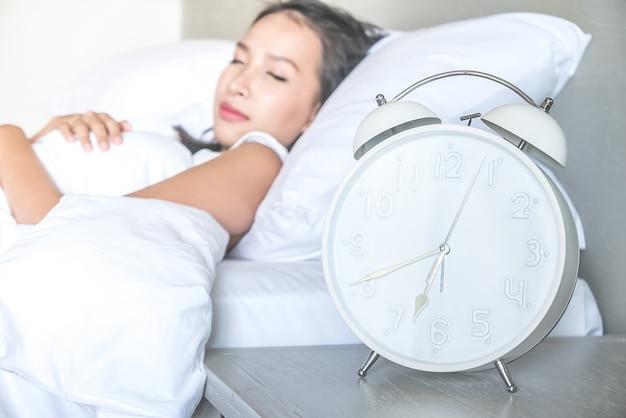 Alarm tired dream deadline bedside Free Photo