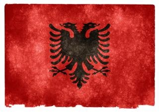 Albania Grunge Flag Photo Free Download - Albania flag