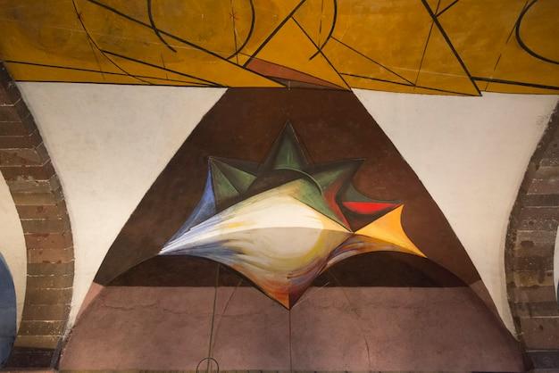 デビッドalfaro siqueiros大学院美術学校、サンミゲルデアジェンデ、グアナフアト、 Premium写真