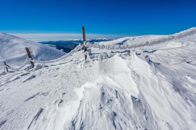 高山の風景 Premium写真